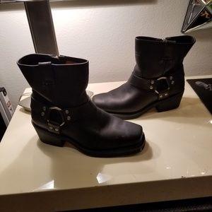Harley Davidson size 40Eu 9.5 USA blk short boot